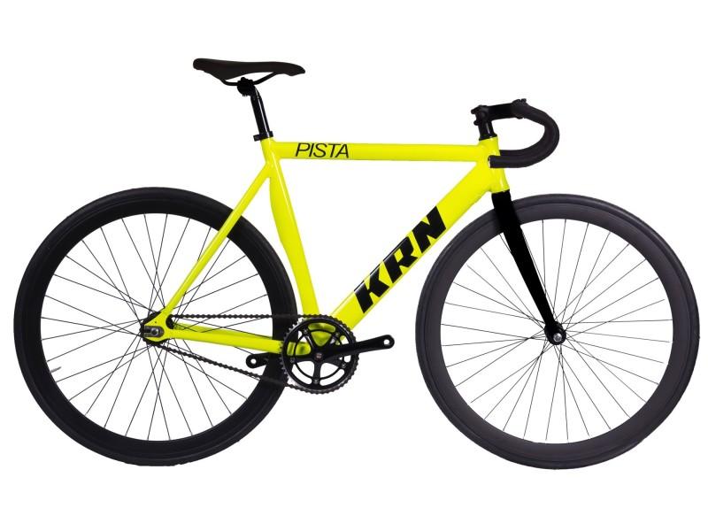 Fixie-Fahrrad KRN Pista Gelb