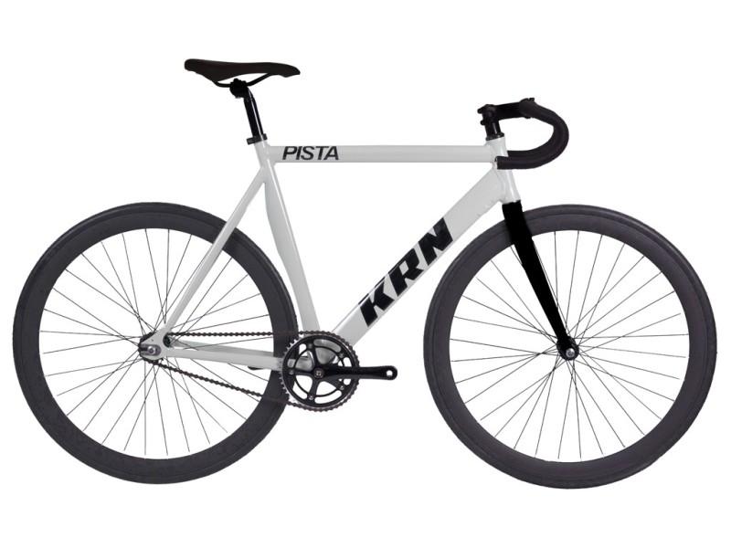 Fixie-Fahrrad KRN Pista Weiß