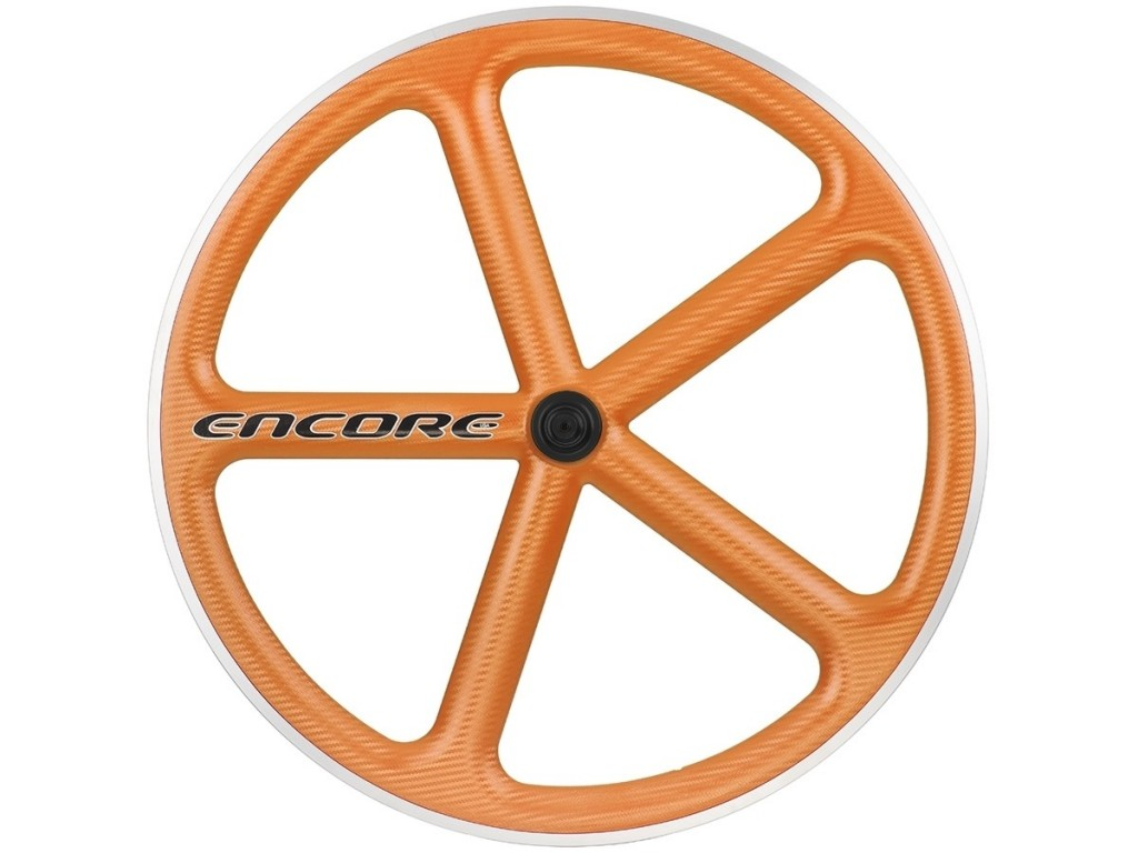 Fixie-Rad Encore Farbe Orange