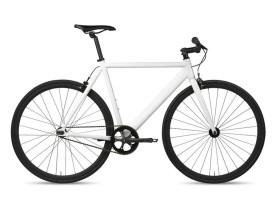 Fixie-Fahrrad 6KU Track Weiß